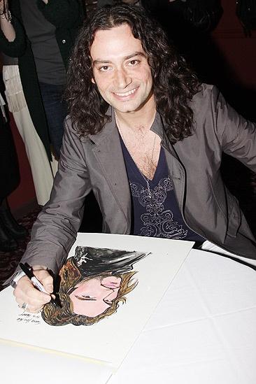 Constantine Maroulis at Sardi's – Constantine Maroulis – signs
