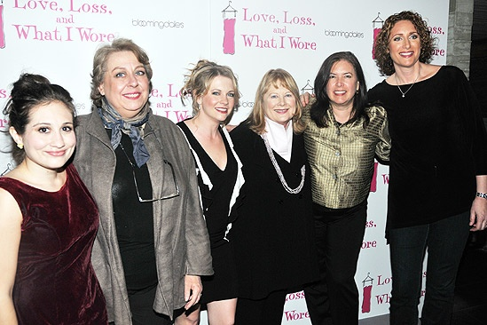 April 2010 Cast of Love, Loss – Lucy DeVito – Jayne Houdyshell – Melissa Joan Hart – Shirley Knight – Karen Carpenter – Judy Gold