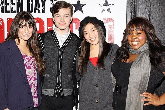Glee American Idiot – Lea Michele – Chris Colfer – Jenna Ushkowitz – Amber Riley