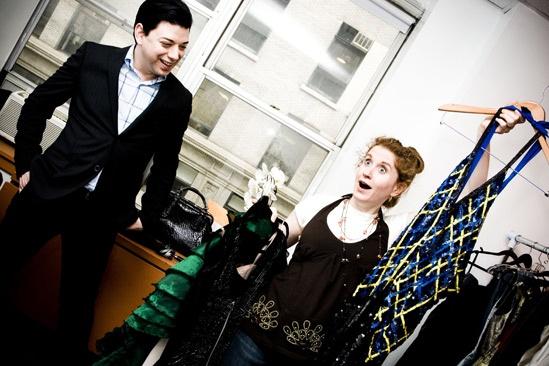 Karine Plantadit and Christiane Noll Tony shopping – Christiane Noll – Malan Breton