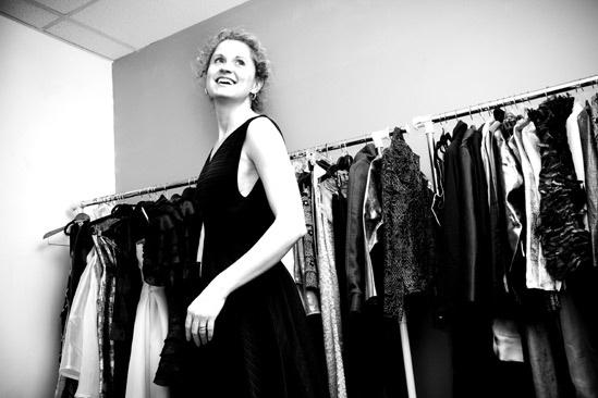 Karine Plantadit and Christiane Noll Tony shopping – Christiane Noll (smiling)