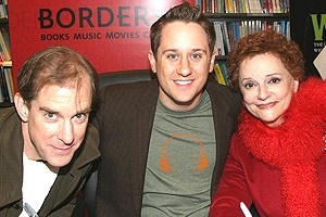 Wicked at Borders - William Youmans - Christopher Fitzgerald - Carole Shelley