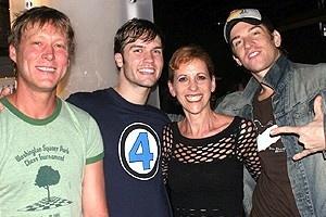 Stars at Altar Boyz - Robert La Fosse - Scott Porter - Ellen Greene - Andy Karl