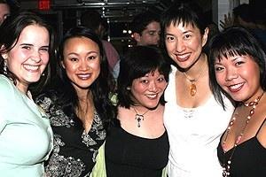 Avenue Q Anniversary/Las Vegas Party - Michelle Lane - Ming Lie Chen - Ann Harada - Angela Ai - Natalie Gray