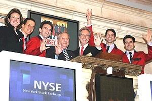 Jersey Boys at NYSE - group