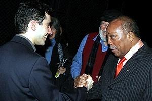 Quincy Jones at Jersey Boys - John Lloyd Young - Quincy Jones