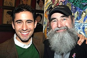 John Lloyd Young at Sardi's - John Lloyd Young - Michael David