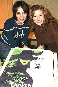 Wicked 1000 - Eden Espinosa - Megan Hilty