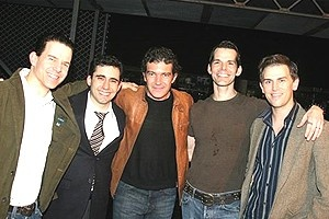 Stars Come Out for Jersey Boys -  Antonio Banderas - Christian Hoff - John Lloyd Young - J. Robert Spencer - Daniel Reichard