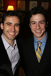 Photo Op - Des McAnuff at Sardis - John Lloyd Young - Christopher Kale Jones