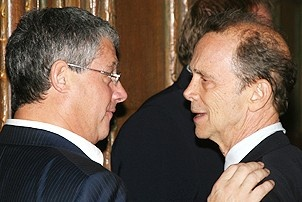 Photo Op - Mary Poppins Opening - Cameron Mackintosh - Joel Grey