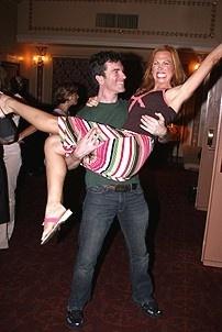 Photo Op - Mamma Mia! Fed Ex Event - Christopher Shyer - Carolee Carmello (body shot)