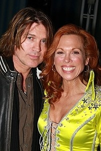 Photo Op - Miley Cyrus at Mamma Mia! - Billy Ray Cyrus - Carolee Carmello