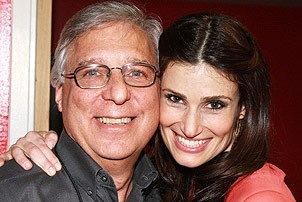 Idina Menzel at Virgin - Idina with Bert Goldstein