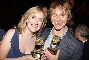 2008 Theatre World Awards - Jenna Russell - Ben Daniels