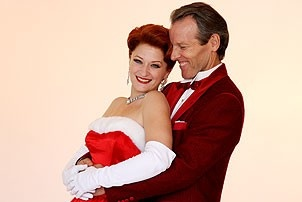White Christmas Photo Shoot - Kerry O'Malley - Stephen Bogardus