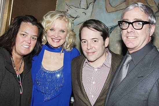 Christine Ebersole at Café Carlyle – Rosie O'Donnell – Christine Ebersole – Matthew Broderick – Scott Wittman
