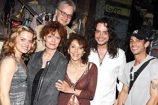 Susan Sarandon at Rock of Ages – Amy Spanger – Susan Sarandon – Tim Robbins – Adrea Martin – Constantine Maroulis – James Carpinello
