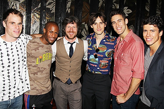 Spider-Man One Year Anniversary - Emmanuel Brown - Chris Tierney -Reeve Carney - Adam Roberts - Craig Henningsen,