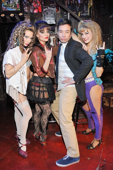 Rock of Ages - Cassie Silva - Neka Zang - Jimmy Fallon - Tessa Alves