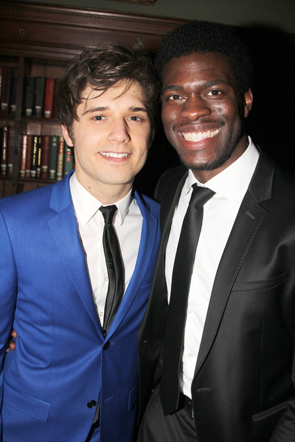 Les Miserables - Opening - OP - 3/14 - Andy Mientus - Kyle Scatliffe