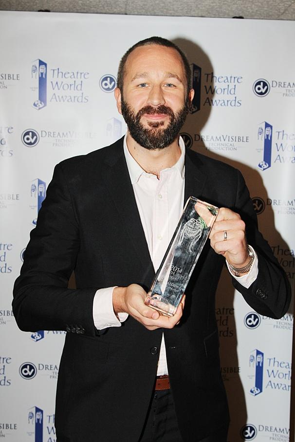 Theatre World Awards - OP - 6/14 - Chris O'Dowd