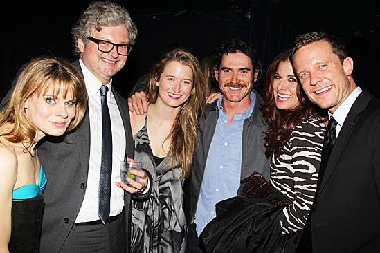 Peter and the Starcatcher Opening Night – Celia Keenan-Bolger – John Ellison Conlee – Grace Gummer – Billy Crudup – Debra Messing – Will Chase