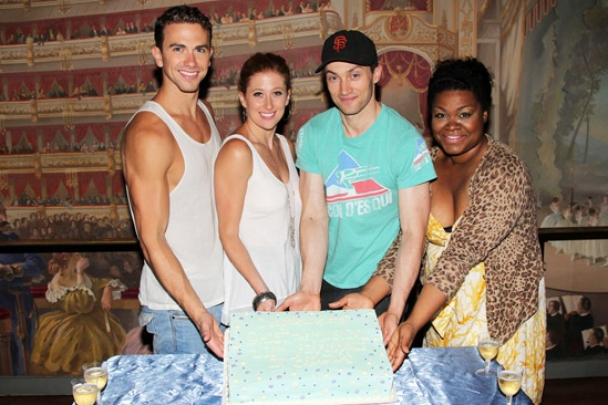 Ghost Celebrates 100 Broadway Shows – Richard Fleeshman – Caissie Levy – Bryce Pinkham – Da'Vine Joy Randolph