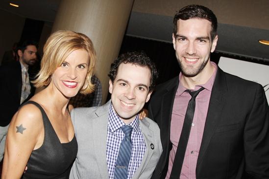 2013 Drama League Awards Luncheon — Jenn Colella — Rob McClure — Timothy Hughes