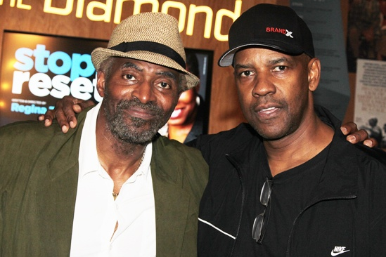 stop. reset. – opening night – Carl Lumbly – Denzel Washington