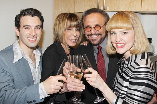 <I> Beautiful: The Carole King Musical</I>: Opening - Jarrod Spector - Cynthia Weil - Barry Mann - Anika Larsen