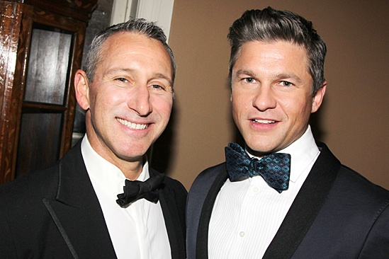 Drama League gala for NPH - 2014 - Adam Shankman - David Burtka