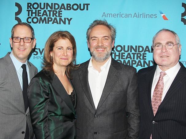 Roundabout Gala - Sam Mendes - OP - 3/14 - Harold Wolpert - Julia C. Levy - Sam Mendes - Todd Haimes