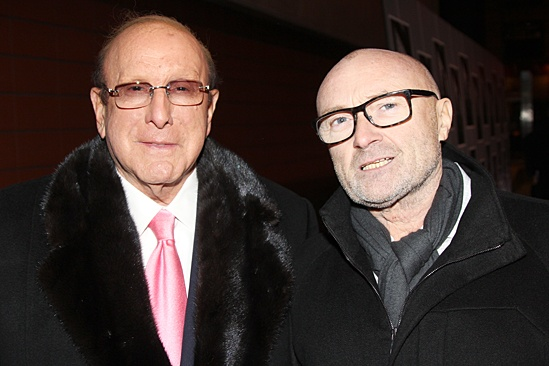 <I> Beautiful: The Carole King Musical</I>: Opening -  Clive Davis - Phil Collins