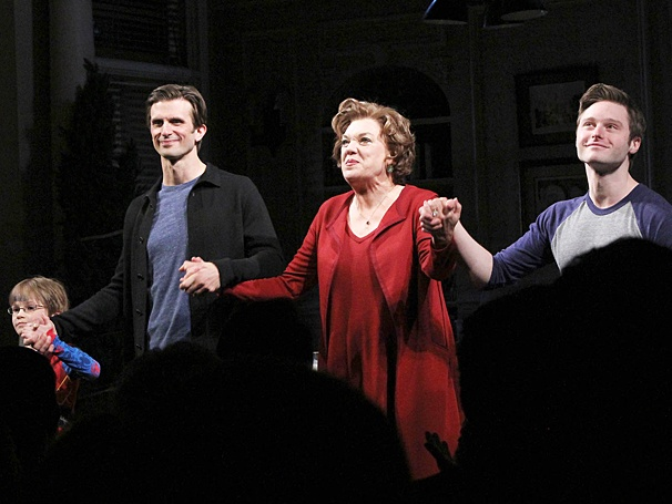 Mothers and Sons - OP - Opening Night - March 25 2014 - Frederick Weller - Tyne Daly - Bobby Steggert