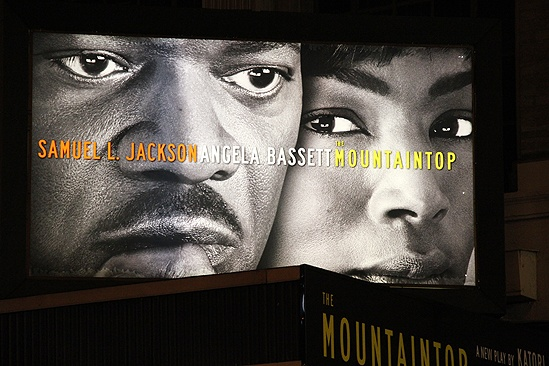 Mountaintop opens - sign