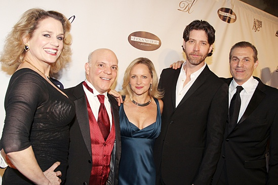 Drama League gala for NPH - 2014 - Cady Huffman - Eddie Korbich - Paige Price - James Barbour - Marc Kudisch