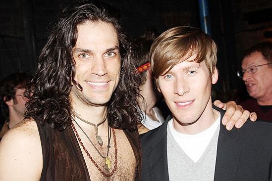 Hair Celebs - Will Swenson - Dustin Lance Black