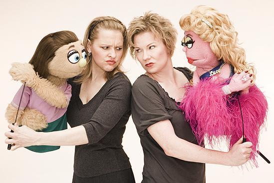Avenue Q Final Cast Photo Shoot - Anika Larsen - Jennifer Barnhart