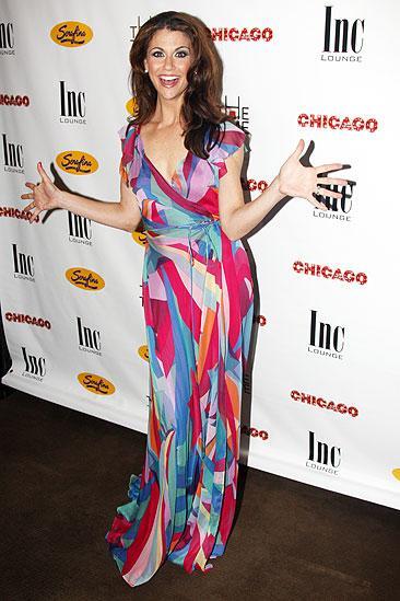 Samantha Harris Debut in Chicago - Samantha Harris (jazz hands)