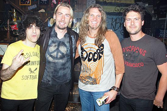 Nickelback at Rock of Ages - Jon Weber - Joel Hoekstra - Chad Kroeger - Ryan Peake