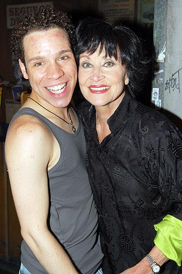 Chita Rivera at In the Heights - Robin De Jesus - Chita Rivera