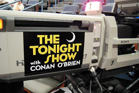 Hair in LA - tonight show camera