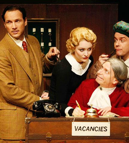 The 39 Steps - Show Photo - Sean Mahon - Jill Paice - Arnie Burton - Jeffrey Kuhn