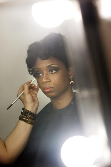 Memphis Promo Shoot - Montego Glover (makeup w/ lights)