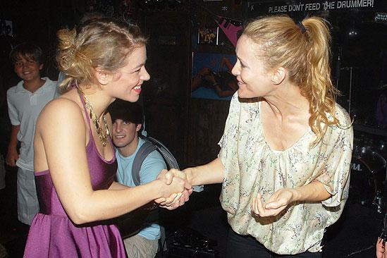 Judd Apatow and Leslie Mann at Rock of Ages - Savannah Wise - Leslie Mann