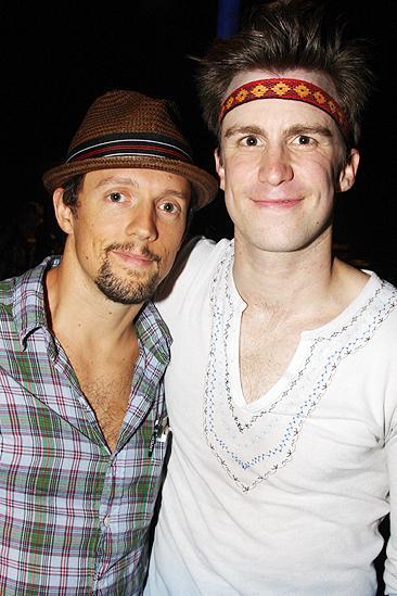 Jason Mraz and Judd Apatow at Hair - Jason Mraz - Gavin Creel