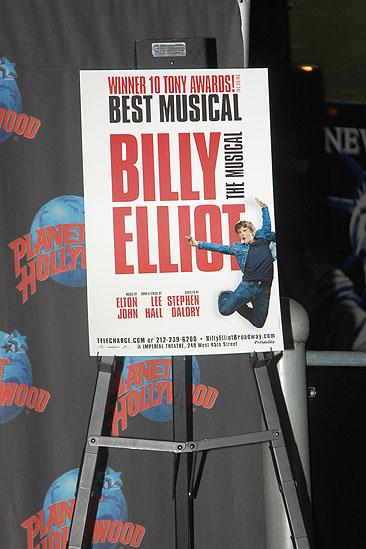 Billy Elliot at Planet Hollywood - Kiril Kulish - Trent Kowalik - David Alvarez