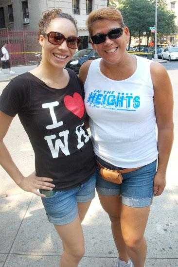 In the Heights Cleans up Washington Heights - Afra hines - Doreen Montalvo