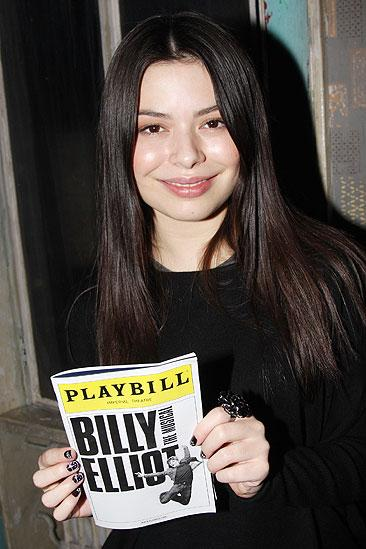 Miranda Cosgrove at Billy Elliot - Miranda Cosgrove Solo